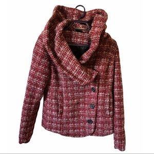 UO x BDG Wool tweed coat